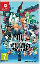 The World of Final Fantasy Maxima (Nintendo Switch, 2018) Brand New /Region Free