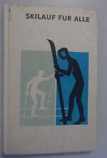 Skis pour tous/Dr Ernst Herberger, w. Ehrler/1972/1. édition technique/Manuel