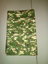 1-Camouflage Frogs KinderMat/Rest Mat Cover Pillowcase for School New Handmade!