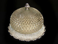 Deckenlampe Plafoniere Kronleuchter Glas  25 cm ÜBERARBEITET  Jugendstil