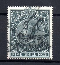 Cape of Good Hope QV 5/- Stamp Act Revenue WS17952