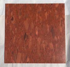 Vintage Kentile Vinyl Asbestos Chip Stone Rust #1192 10 SQ FT 12x12in Floor Tile