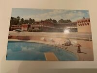 Vintage Alpine Motel Quality Courts Macon Georgia Postcard