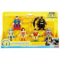 IMAGINEXT DC SUPER FRIENDS LEGENDS OF BATMAN HEROES OF GOTHAM 6 FIGURE PACK