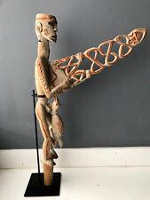 A Bis Pole of Asmat People Tribal Art