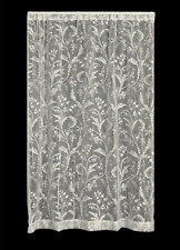 "Heritage Lace IVORY COVENTRY Curtain Panel 45""Wx63""L"
