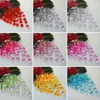 1000-10000pcs Wedding Party Scatter Table Crystal Diamond Confetti Sparkly Beads