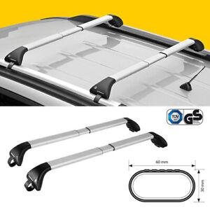 BARRE PORTATUTTO Volkswagen Golf VII Sportsvan railing,2014> NORDRIVE ALLUMINIO