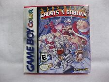 Ghosts 'n Goblins Nintendo Game Boy Color  in box Game Manual