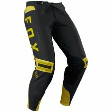 Fox Clothing Flexair PREEST Motocross / MX Pants / Trousers Dark Yellow Size 30