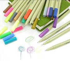 48 Set Colors EF300 FINECOLOUR Sketch Fine Liner Pen Drawing Painting Artist