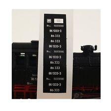 0114 Lokschilder BR 86 1617-9 / BR 86 617 DR TT