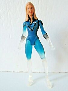 Marvel Legends Fantastic 4 Movie Jessica Alba Power Blast Invisible Woman Figure