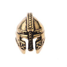 10Pcs Copper Gem Skull Connector Spacer Charm Bracelet Loose Beads DIY Beads