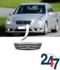 NEW MERCEDES BENZ C CLASS W203 2004-2007 FRONT BONNET UPPER MIDDLE GRILL COVER
