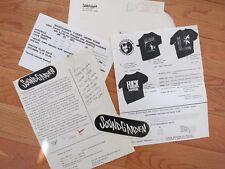 Soundgarden signed 1989 Fan Club Letter & extras rare! Chris Cornell Pearl Jam