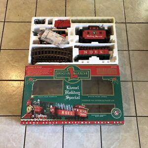 Lionel 8-81019 Lionel Holiday Special G Gauge Steam Train Set LN/Box