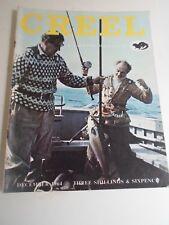 Vintage Magazine CREEL December 1964 + Illustrated + Advertising