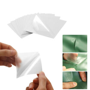 Clean Flex Patches for Vinyl Fabric Repair TPU Tent Tape Outdoor Gear Patch x10
