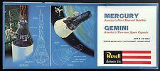 REVELL Kit.No.H-1834, MERCURY AND GEMINI, 1/48 scale, 1975 + *BONUS*