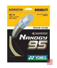Yonex Nanogy 95 Badminton Stringa Set 0.69mm - ORO cosmico