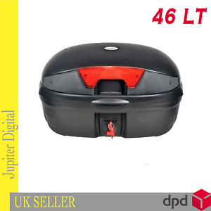 Motorcycle Universal Top Box 46L Heavy Duty XL fits Two Full Face Helmets