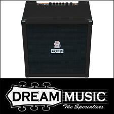 Orange Crush Bass 100 Bass Combo Amp 100W Amplifier BLACK Tolex RRP$1099