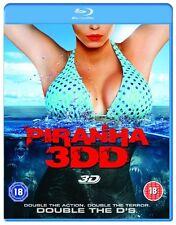 Piranha 3DD (Blu-ray 3D + Blu-ray) [DVD][Region 2]