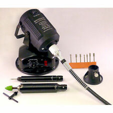 Mastercarver PRO-FLEX BENCHTOP rotary carver -  STEALTH + DETAIL PRO handpieces