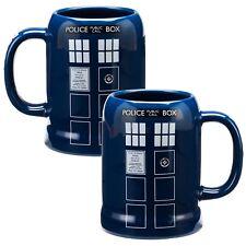 BBC Doctor Who Mug, 20oz TARDIS MUG, Tardis Stein, Doctor Who Stein