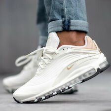 New Nike Air Max Deluxe SE AO8284-100 Sail/Desert Ore/Teal/White Shoes Mens $180