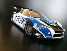 LEGGERO ASCARI GT12 lexan carrozzeria kamtec SCHUMACHER Supastox V12 £ 12.99