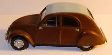 HELLER HUMBROL CITROEN 2CV 1950 MONTE ET PEINT sans phare 1/43 NO BOX