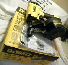 NEW DeWALT DW66C-1 15 Degree Coil Siding/Fence Nailer Nail Gun FREE SHIPPING