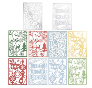 Martha Stewart Multi-Color Holiday Themed 48 Sheets Scrapbooking