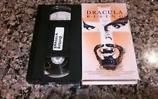 DRACULA RISING VHS TAPE! NEW HORIZONS 1993 HORROR STACEY TRAVIS, CHRIS ATKINS