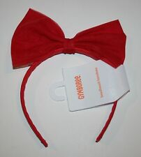 New Gymboree Butterfly Catcher Line Poppy Pink Tulle Bow Headband Accessory NWT