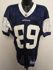 DALLAS COWBOYS REEBOK NFL PRACTICE WORN JERSEY TONY CURTIS 06-50 BERLIN WI 89 N