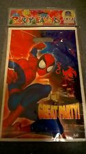 Spiderman PARTY LOOT Bags TREAT BAGS PARTY SUPPLIES - PACK OF 6 New