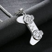 """Playstation Joypad Pendant Game Controller Necklace 24"""" Chain"""