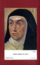 SANTINO SANTA TERESA DE JESUS  IMAGE PIEUSE - HOLY CARD-  Heiligenbild