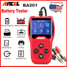 Automotive Car 12V 100-2000 CCA Battery Load Tester Starter Cranking System Tool