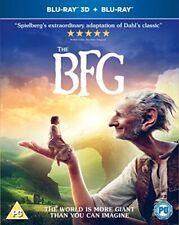 The BFG [Blu-ray 3D + Blu-ray] [2016] [DVD][Region 2]