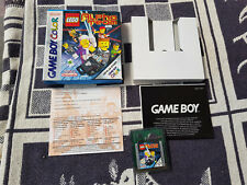 Nintendo Game Boy Color Spiel mit OVP Lego Alpha Team