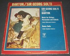 Bartok Music For Strings , Percussion And Celesta Solti Turnabout TV S 34613 lp