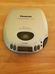 Panasonic Portable CD Player 10 seconds Anti-Shock Memory II SL-S310