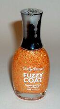 Sally Hansen FUZZY COAT Nail Polish Nail Enamel Textured PEACH FUZZ 300
