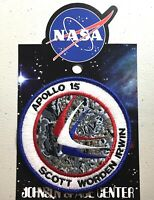 NASA APOLLO 15 MISSION PATCH Official Authentic SPACE 4in USA
