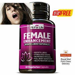 ORGASM Sex Drive enhancer Pills for Women Female Libido Booster hard wet horny