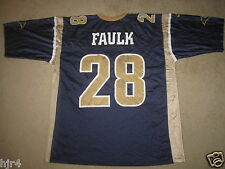 Marshall Faulk #28 St. Louis Rams NFL Nike Jersey 2XL 2X mens